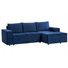 Sofa rozkładana Edgy Gr3 Tkaninowa Prawostronna
