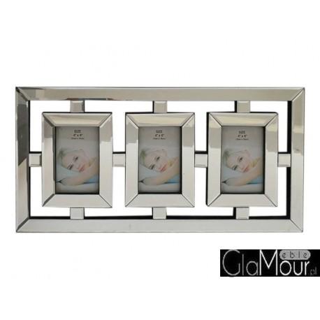 Ramka na trzy zdjęcia (10x15) 60x30 PM-1