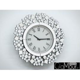 Zegar owalny 54x54cm JS175