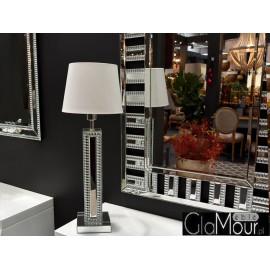 Lampa stołowa 15x15x56cm JS163