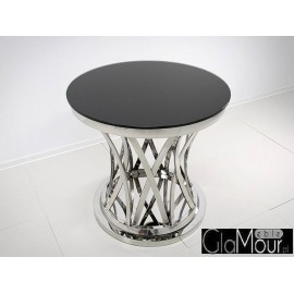 Elegancki stolik okrągły 80x80x75cm TH371