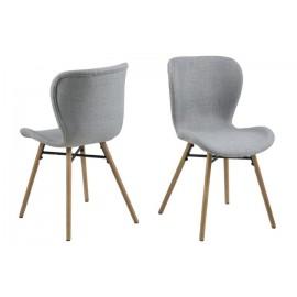Krzesło Batilda light grey