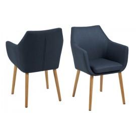 Krzesło Nora Dark Blue
