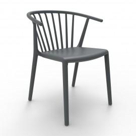 Krzesło Woody Szare ciemne