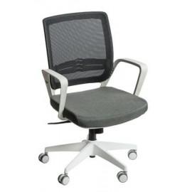 Fotel biurowy Seca G czarny/szary