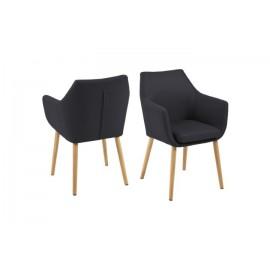 Krzesło Nora Antracyt