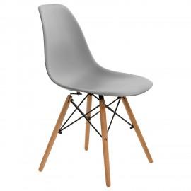 Krzesło Simplet P016W basic szare