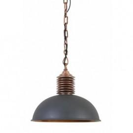Lampa wisząca Amely szara/miedziana