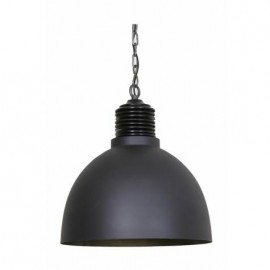 Lampa wisząca Avery cementowa/antyczny c ynk