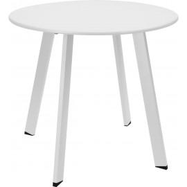 Stolik okrągły Intesi Pini biały