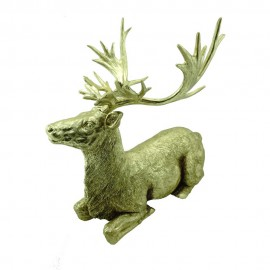 SITTING DEER FIGURKA
