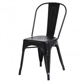 Krzesło Paris Antique czarne