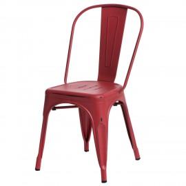 Krzesło Paris Antique czerwone