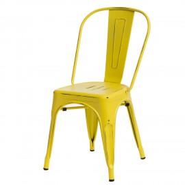 Krzesło Paris Antique żółte