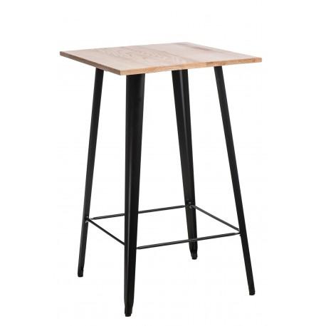 Stół Barowy Paris Wood czarny jesion