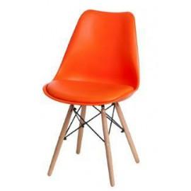 Krzesło Norden DSW PP pomarańczowe