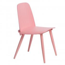 Krzesło Rosse różowe