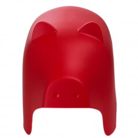 Siedzisko dziecięce Piggy czerwone