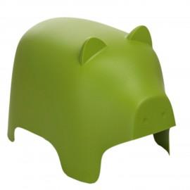 Siedzisko dziecięce Piggy zielone