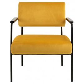 Fotel Cloe VIC żółty