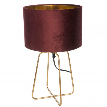 Lampa Velte Intesi bordowa/złota