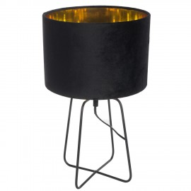 Lampa Velte Intesi czarna/czarna