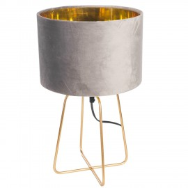 Lampa Velte Intesi szara/złota