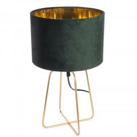 Lampa Velte Intesi zielona ciemna/złota