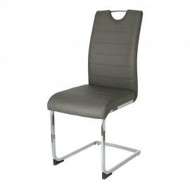 Krzesło Laura ciemny szary
