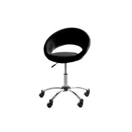 Fotel biurowy na kółkach Plump czarny