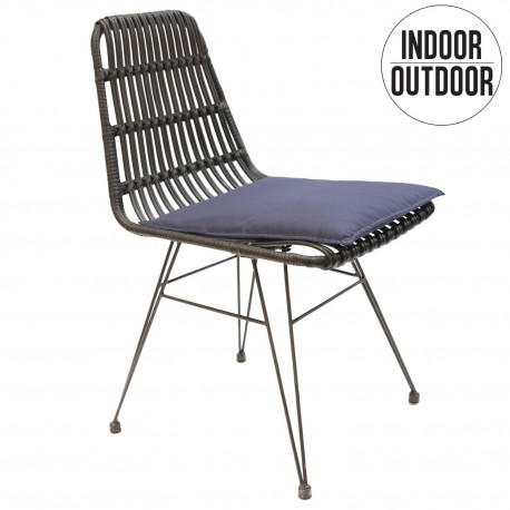Krzesło Surabaya czarne