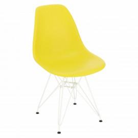 Krzesło P016 PP White dark olive
