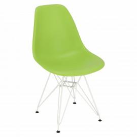 Krzesło P016 PP White zielone