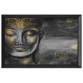 Orientalny obraz złoty Budda 80 x 60 cm S23649