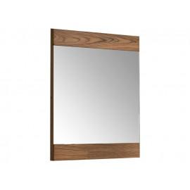 Lustro w oprawie z naturalnego drewna 80 x 70 x 2,5 cm M-10
