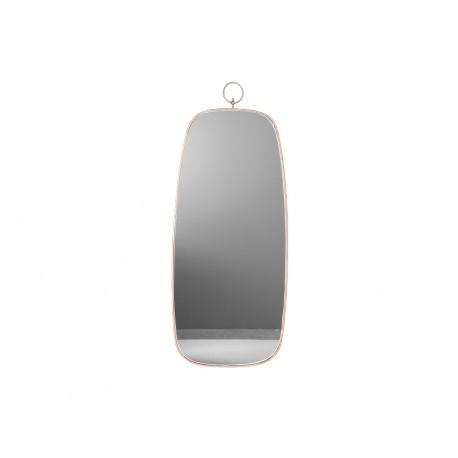 Złote owalne lustro retro z zawieszką 41 x 99 x 1,5 cm TOYJ19-091