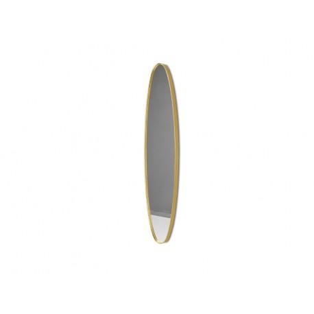 Podłużne lustro w złotej ramie 23 x 97 x 4 cm 16F-572