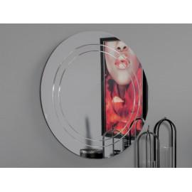 Okrągłe nowoczesne lustro Ø 100 cm M-19