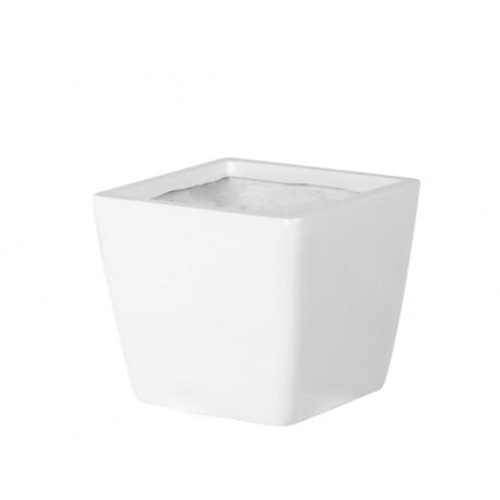 Biała donica Ø 30 x 26 cm 2164/1
