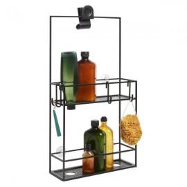 Półka prysznicowa Cubiko czarna