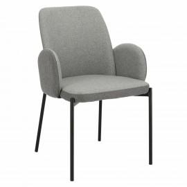 Krzesło Perro szare