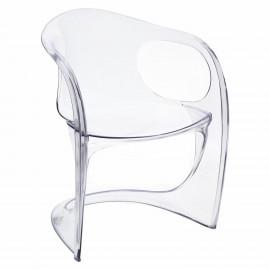 Krzesło Spak transparentne insp. Casalin o