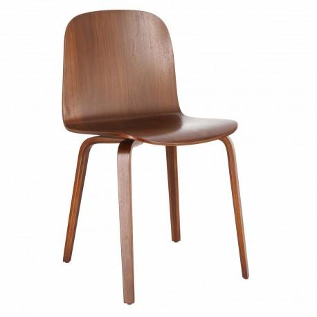 Krzesło Wilcheery dąb walnut