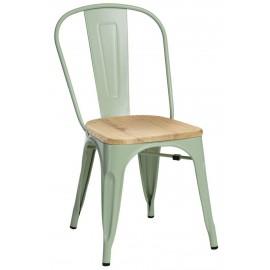 Krzesło Paris Wood zielony jesion