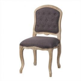 Stylowe krzesło wykonane z dębu