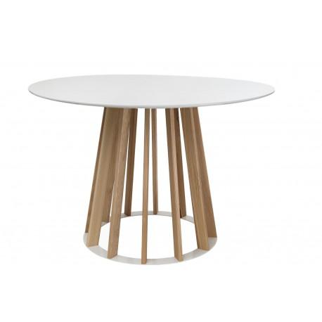 Stół Vertical 100 cm biały