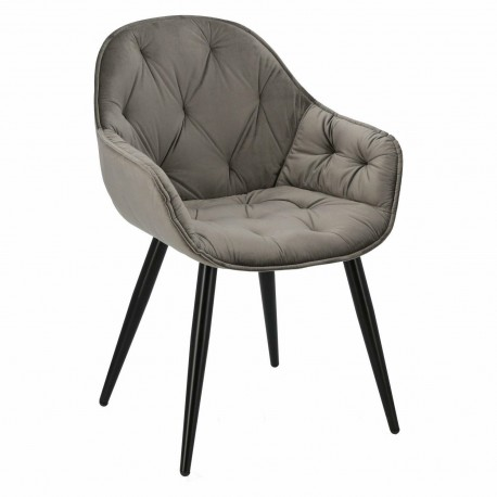 Krzesło Brooke 2 szare 17