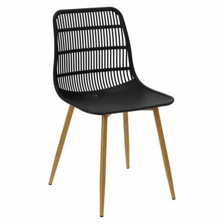 Krzesło Klaus czarne