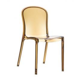 Victoria krzesło przeźroczyste SIESTA