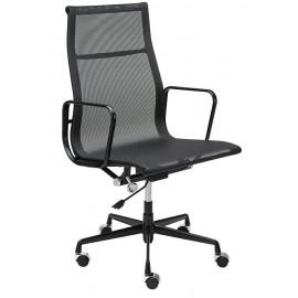 Fotel biurowy AERON PREMIUM czarny - siatka aluminium